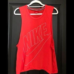 Nike workout muscle tank small